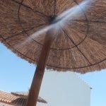 Around the pool - parasol
