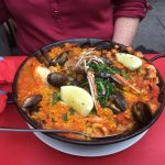 Seafood Paella.....the half portion