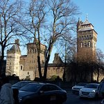 Cardiff Castle from Bute Park 01