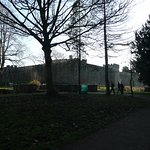 Cardiff Castle from Bute Park 02