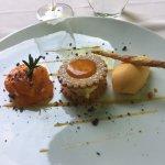 dessert sablé à l'abricot