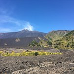Mount Etna - Taken whilst on the 1 hour long walk with Go-Etna
