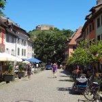 Staufen - Vue sur les ruines du château