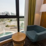 Enjoy the city view of our deluxe and executive rooms