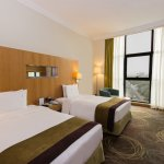 Our hotel offers both standard and deluxe twin rooms