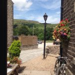 Warm summers day at The Old Hall. Just before a wedding party arrived. Wedding receptions are ve