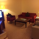 Executive room lounge area