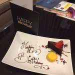 Executive room - sweet birthday surprise from the team