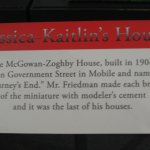 Label for Jessica-Kaitlin's House