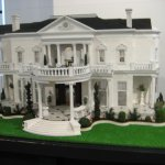Jessica-Kaitlin's House (scale model of historic home in Mobile)