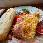 Ham & Cheese Omlette