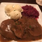 Sauerbraten, melts in your mouth!