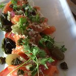King Salmon Crudo