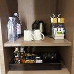 Minibar corner