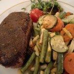Steak Napoleon in Dijon Senf Kruste