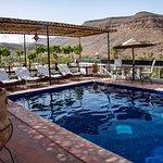 la piscine sur la terrasse