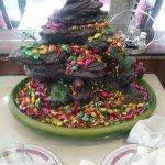 la fontaine aux bonbons :)