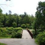 Trail in edwards garden