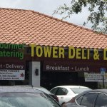front of Tower Deli & Diner