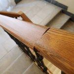 Hazardous hand rail