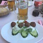 Keftedakia (meatballs)