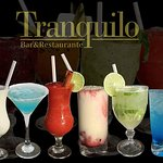 Tranquilo Drinks