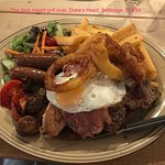 Terrific mixed grill. For if you're really really hungry!