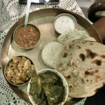 the nonveg thali