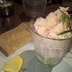 Prawn and Crab Starter, large prawns and full to the brim!