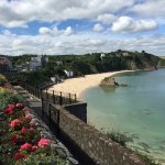 Tenby looking out to see.