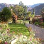 aérea del jardín y dependencias