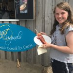 The best ice creams EVER! I thought this little hidden gem in Widemouth Bay was brilliant last y