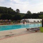La piscine où l'on se croirait à Bora-Bora