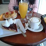 Desayuno muy bueno!