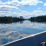 Portage to Basswood Lake.