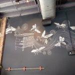 Chalk Art over the bar