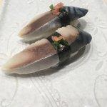 Mackerel Sushi......to die for