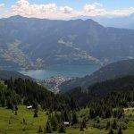 View from Schmittenhohe.