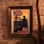 Great English pub decor