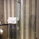 Beautiful shower with rainhead