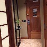 Entry and bathroom door
