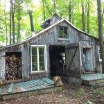 Visite de l'authentique cabane à sucre familiale