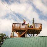 Kersey Valley Zipline, Archdale NC 336-431-1700