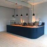 Café/reception/shop