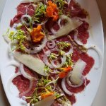 Amazing beef carpaccio!