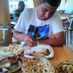 Taking Lunch at Sagar Pure veg