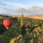 Ballooning in Tuscany Foto