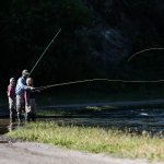 Fly fishing lessons on the Provo River with Rocky Mountain Outfitters