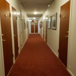 Old fashioned hallway