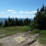 Looking out from Mt Greylock